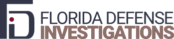 Florida Defense Investigations Logo
